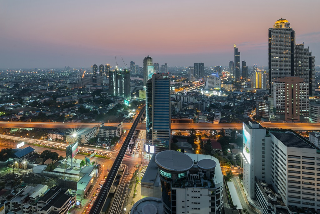 Experience the nightlife in Bangkok